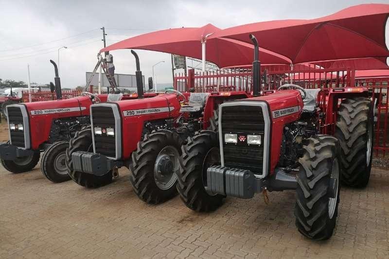 Tractors Tracked tractors Massey Ferguson 290 4x4