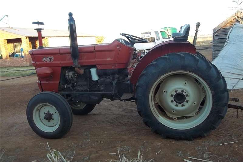 Tractors Two wheel drive tractors Fiat Tractor 450 for sale, good working condition