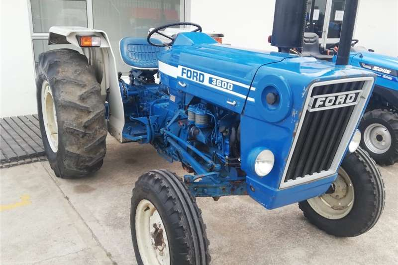 Tractors Two wheel drive tractors Ford 3600