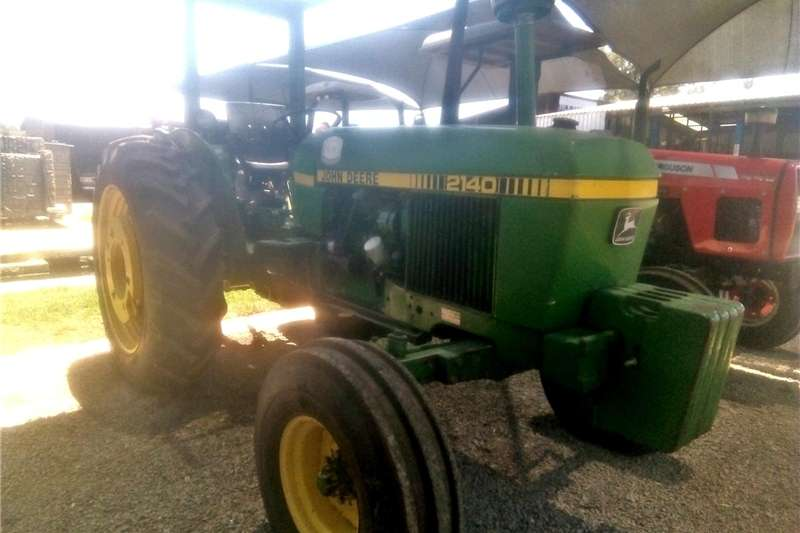 Tractors Two wheel drive tractors John Deere 2140 4X2 Pre Owned Tractor.