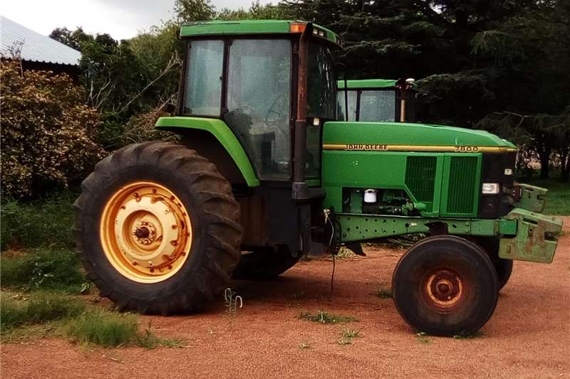 Tractors Two wheel drive tractors John deere 7800 tracktor