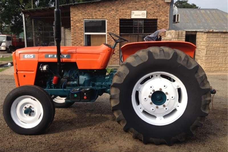 Tractors Two wheel drive tractors Orange Fiat 615 49kW/66Hp