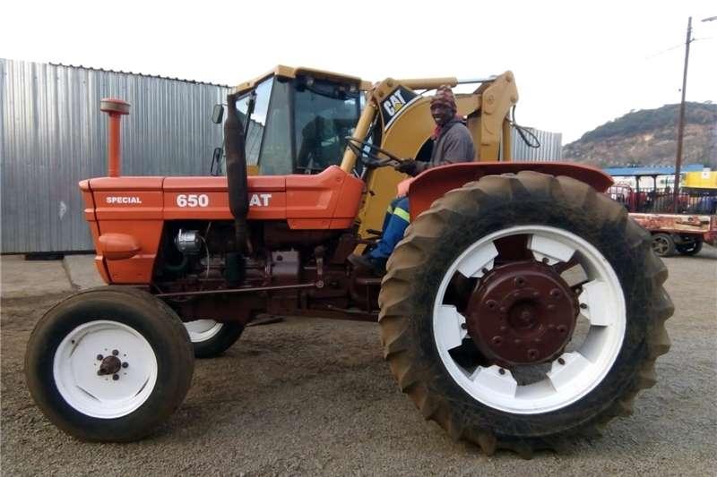 Tractors Two wheel drive tractors Orange Fiat 650 48kW 2x4 Pre Owned Tractor