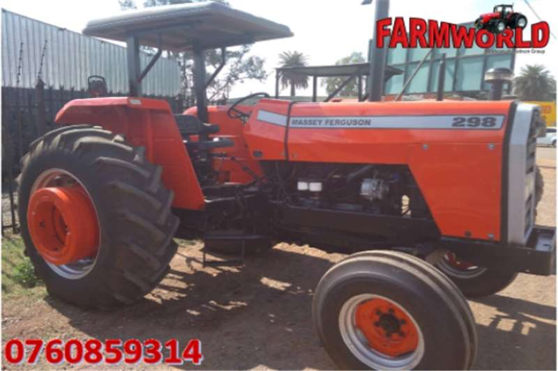 Tractors Two wheel drive tractors Red Massey Ferguson (MF) 298 2x4 Pre Owned Tractor