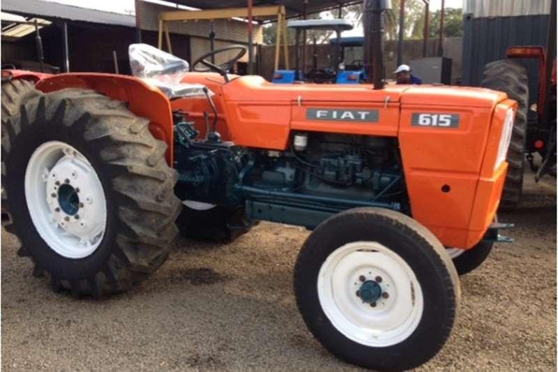 Tractors Two wheel drive tractors S2937 Orange Fiat 615 49kW/66Hp Pre Owned Tractor