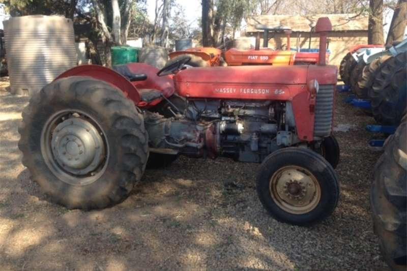 Tractors Two wheel drive tractors S3149 Red Massey Ferguson (MF) 65 40kW/55HP Pre Ow