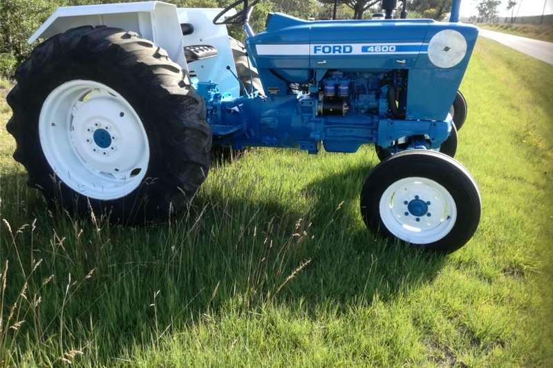 Utility tractors Ford 4600 trekker Tractors