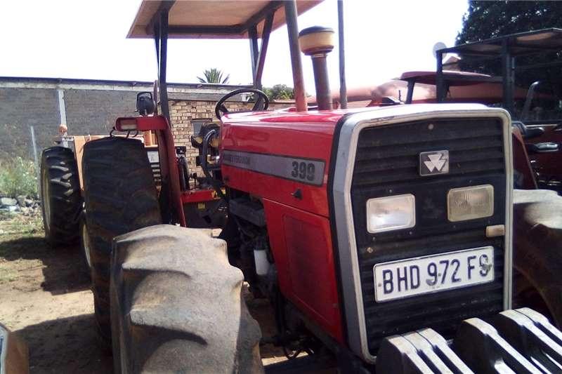 Utility tractors Massey Ferguson 399DT Tractors