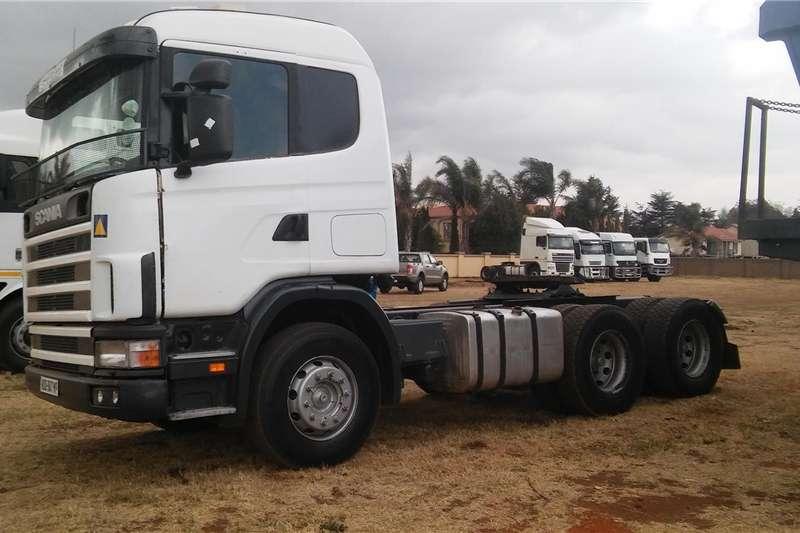 Trucks Double axle SCANIA V8 480 2007