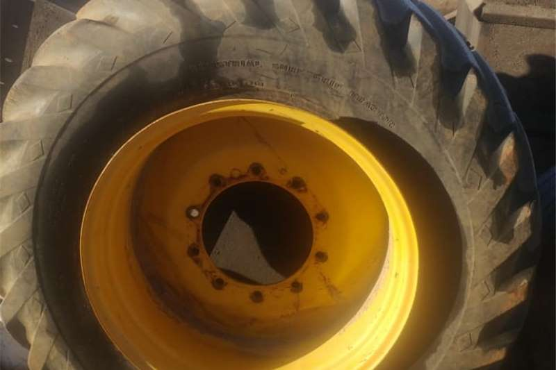 TLB Tyre and Rim For SALE Tyres