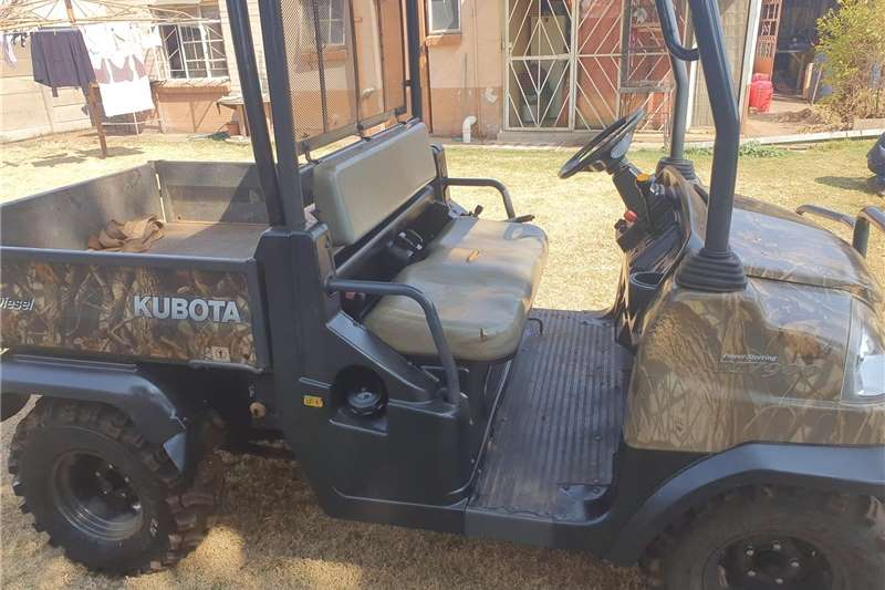 Utility vehicle Four wheel drive Kubota RTV 900 Camo