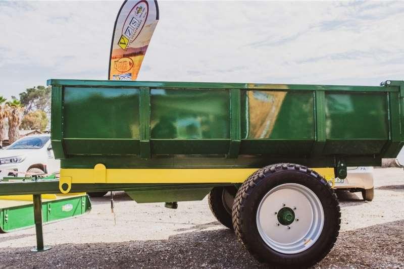 Van Zyl Staalwerke 6T Bell V027 Agricultural trailers