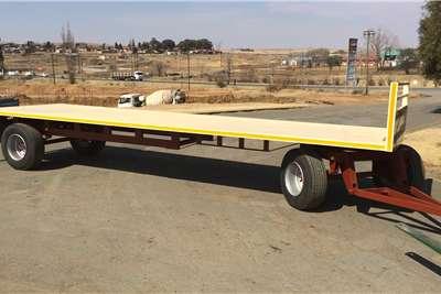 Van Zyl Staalwerke Carts and wagons SLEEPWA 9M STANDAARD | V093 Agricultural trailers