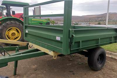 Van Zyl Staalwerke Dropside trailers Van Zyl Staal Werke 3 Ton Tipper Trailer Agricultural trailers