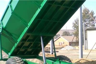 Van Zyl Staalwerke Tipper trailers TIPWA 10T   V149 Agricultural trailers