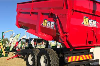 Van Zyl Staalwerke Tipper trailers TIPWA 18T (MET EKSTENSIES)   V098 Agricultural trailers