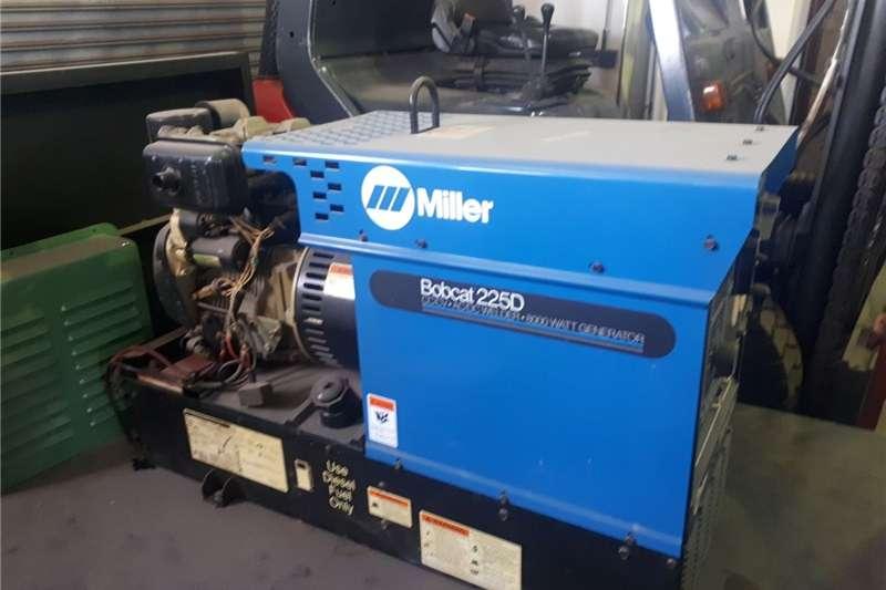Welder generator Miller 225Amp Diesel Welder