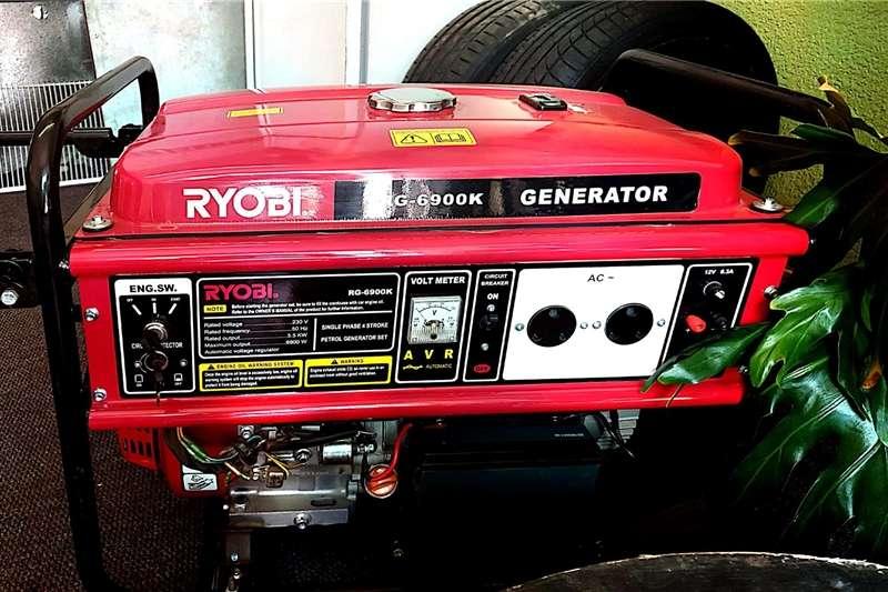Welder generator RYOBI GENERATOR 4 STROKE 5.5KW