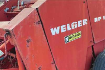 Welger Round balers Welger RP 12 Haymaking and silage