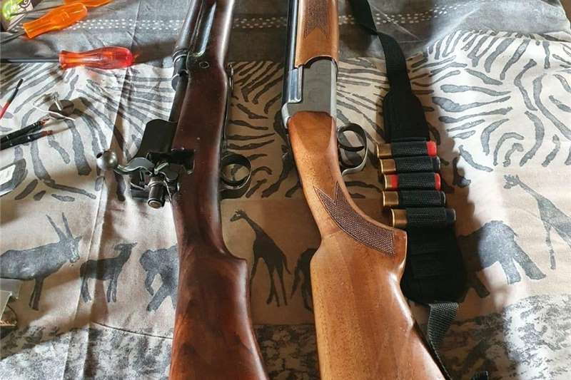 Guns and rifles Wildlife and hunting