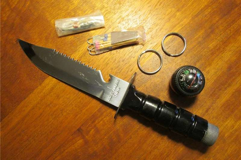 Wildlife and hunting Hunting knives 1986