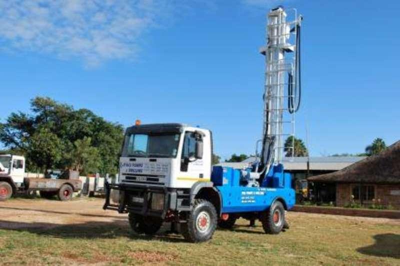 Aqua Rock Drill rigs 2000 WWR TRUCK MOUNTED DRILL RIG TRUCK INCL 2020