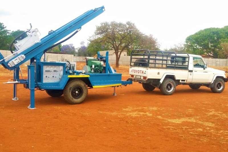 Aqua Rock Drill rigs DRILLMAXX 100 TRAILER MOUNTED DRILLING RIG 2020