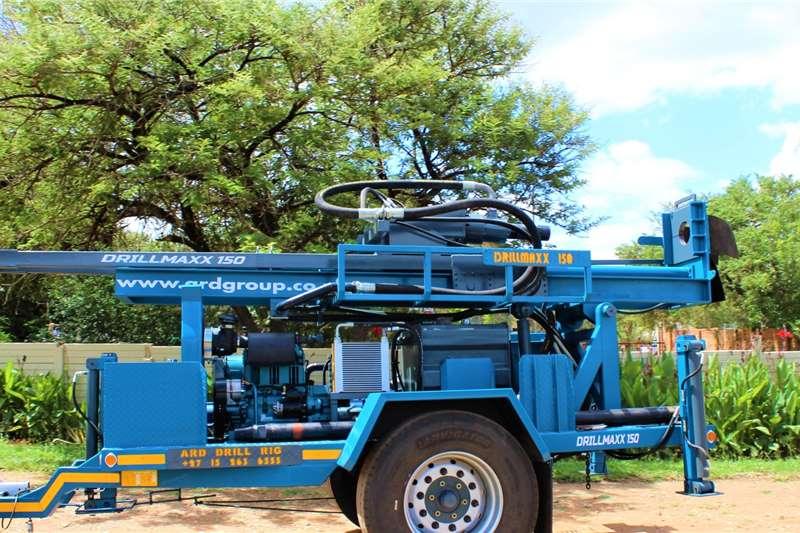 Aqua Rock Drill rigs DRILLMAXX 150 TRAILER MOUNTED DRILL RIG 2020