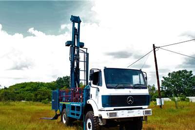Aqua Rock DRILLMAXX250 4X4 TRUCK MOUNTED DRILL RIG Drill rigs