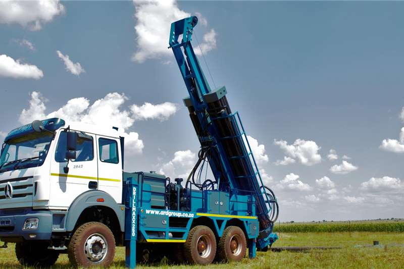 Aqua Rock DRILLMAXX250 POWERSTAR 6X4 TRUCK MOUNTED DRILL RIG Drill rigs