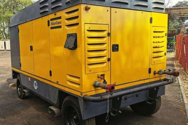 Atlas Copco Compressors 1100CFM Mobile Diesel Compressor 2013