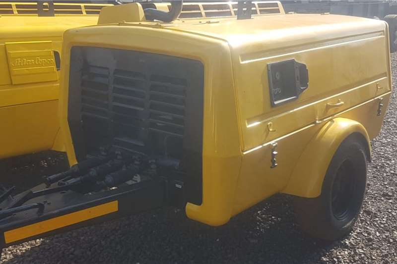 Atlas Copco Compressors Atlas Copco XA 80 Mobile Compressor 1988