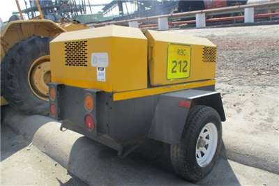 Atlas Copco F2L 1011F Mobile Air Compressor Compressors