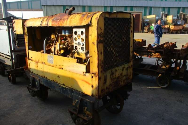 Atlas Copco Compressors Mobile Air Compressor