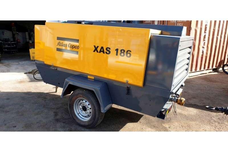 Atlas Copco Compressors XAS 186 2013