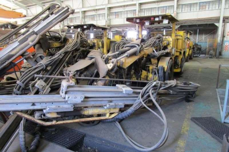 Atlas Copco Drill rigs Atlas Copco Rocket Boomer 282, Double Boom Drill R 2011