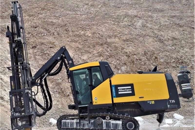 Atlas Copco Drill rigs T35 2017