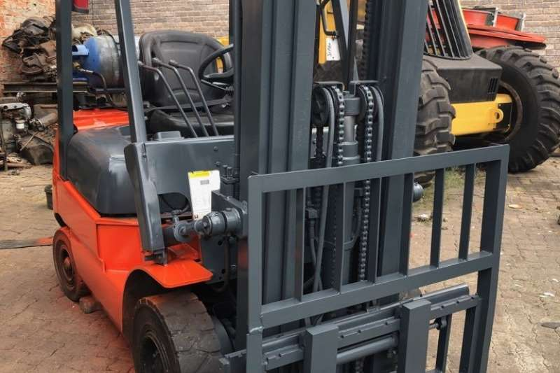 Atlas Copco Forklifts Petrol forklift An excellent, 2013, 1.8ton Heli FG18 on petrol/lpg 2013