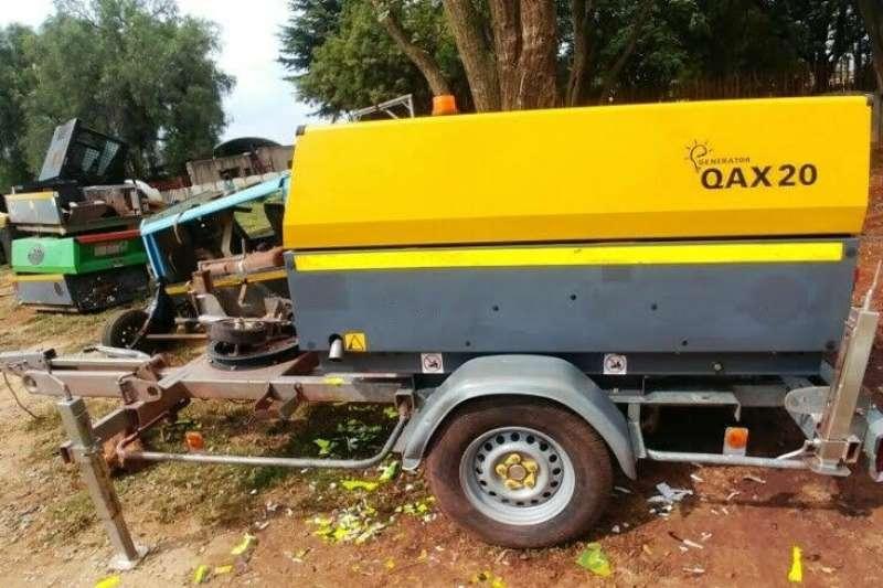 Atlas Copco Others Mobile Silent Diesel Generator 2014