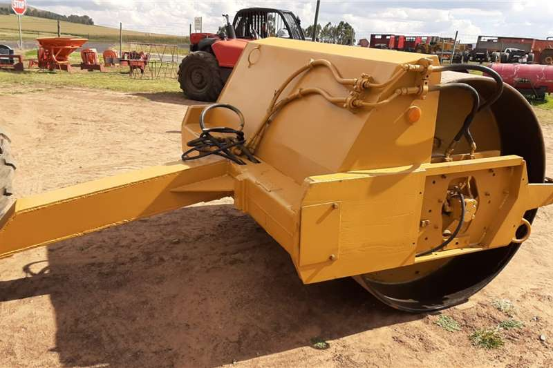 Attachments 10 Ton Smooth Drum Vibrating Roller