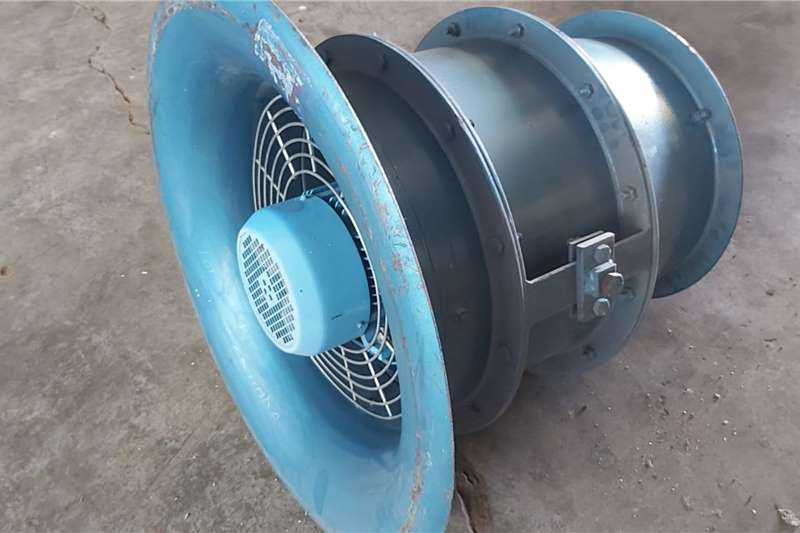 Attachments 3 kW Axial Air Flow Fan High Pressure Blower