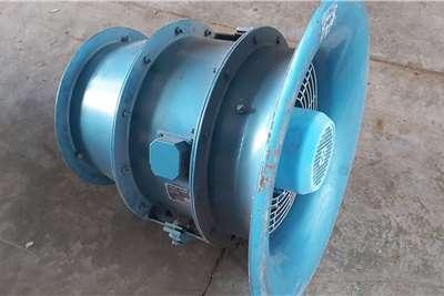3 kW Axial Air Flow Fan High Pressure Blower Attachments