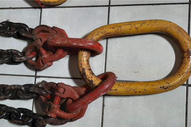 4 Leg Chain Sling Attachments