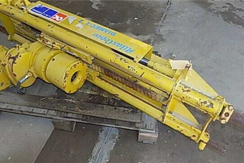 Attachments Atlas Copco Pneumatic Diamec 262 Drill