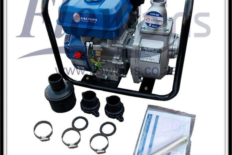 Attachments Construction CRI Water / Trash water Pumps Available 2020