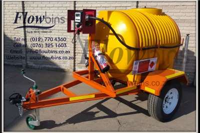 Farming NEW 12V Diesel Bowser 1000Lt & 600Lt Trailers with Attachments