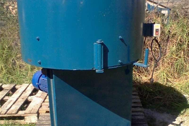 Attachments Farming pan mixers