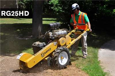 Farming Rayco Stump Grinder RG 25 Attachments