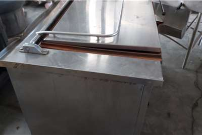 Tilting Industrial Frying pan 80 L Attachments