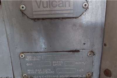 Vulcan Industrial 4 Burner Stove and 3 Phase Oven Attachments
